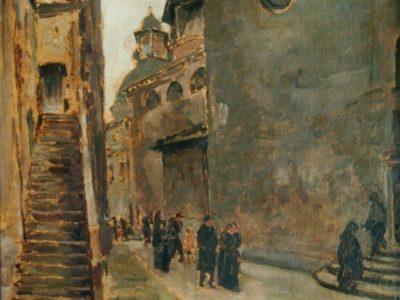 Campiello tra il Duomo e il Battistero