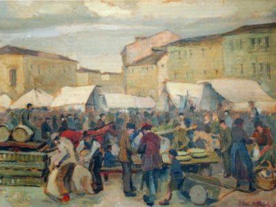 Mercato in Piazza del grano