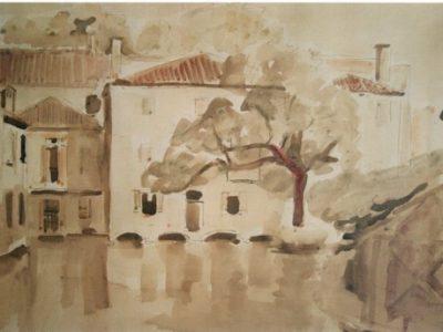 Il Cagnan oltre il ponte di San Francesco