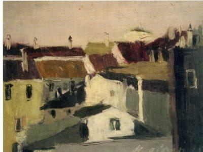 I tetti di Treviso dallo studio di Via Leonardo