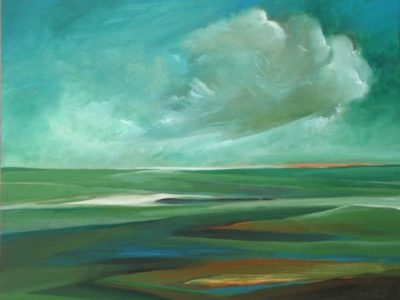 Palù: nuvoe carghe de piova de matina sul Brian